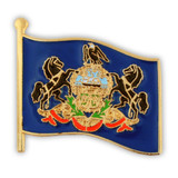Pennsylvania State Flag Pin
