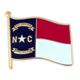 North Carolina State Flag Pin