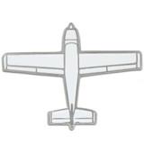 Airplane Lapel Pin