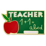 Teacher Chalkboard Pin