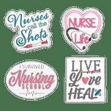 Nurse Life 4-Pin Set