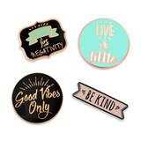 Good Vibes 4-Pin Set