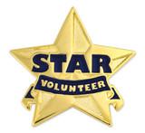 Star Volunteer Pin