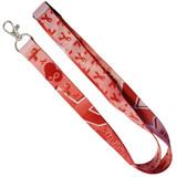 Red Awareness Ribbon Lanyard