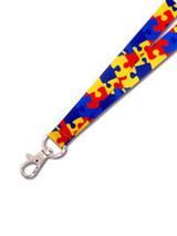 Autism Awareness Lanyard
