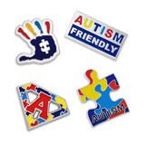 Autism Awareness 4-Pin Set