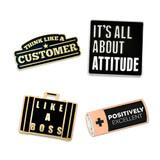 Customer Service 4-Pin Set
