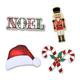 Christmas 4-Pin Set