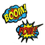 BOOM! POW! 2-Pin Set