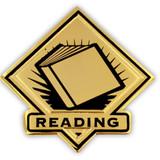 School Pin - Reading