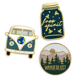 Wanderlust 3-Pin Set
