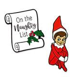 Naughty Elf 2-Pin Set