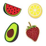 Fruit 4-Pin Set