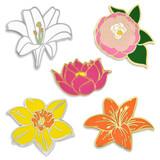 Flower 5-Pin Set