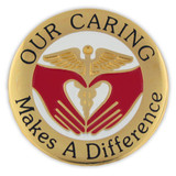 Our Caring Makes A Difference Pin