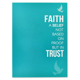 Faith and Trust Presentation Card