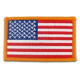 Patch - USA Flag Gold