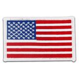 Patch - USA Flag White