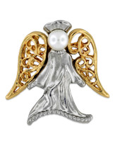 Angel with Pearl Pin