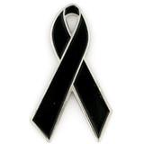 Black Ribbon Pin