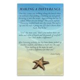 Starfish Pin with Card