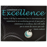 Commitment to Excellence Card and Pin
