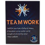 Teamwork Card and Pin