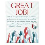 Great Job Card and Pin