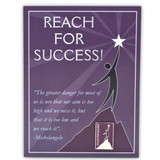 Reach For Success Card and Pin