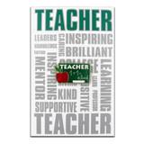 Teacher Pin with Card