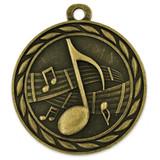 Music Medal - Engravable