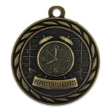 Perfect Attendance Medal - Engravable