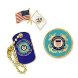 U.S. Coast Guard 3-Pin Set