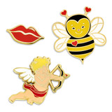 Valentine's 3-Pin Set
