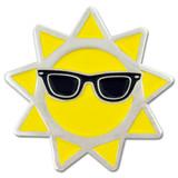 Cool Sun Lapel Pin
