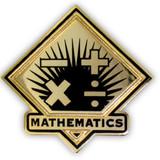 School Pin - Mathematics
