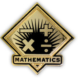 School Pin - Mathematics