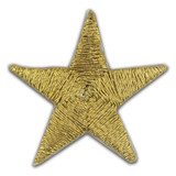 Applique - Gold Star