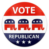 Vote Republican Button