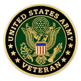 Army Veteran Coin - Engravable