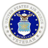 Air Force Veteran Coin - Engravable