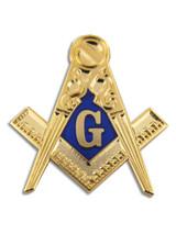 Masonic Symbol Pin