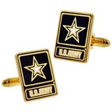 U.S. Army Star Cufflink Set