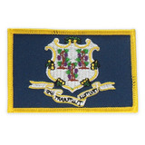 Patch - Connecticut State Flag