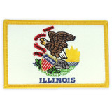 Patch - Illinois State Flag