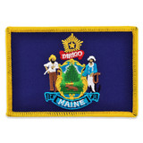 Patch - Maine State Flag