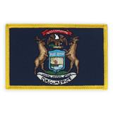 Patch - Michigan State Flag