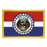 Patch - Missouri State Flag
