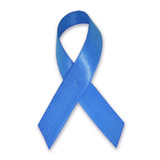 Cloth Awareness Ribbon - 25 Pack - Blue