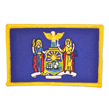 Patch - New York State Flag